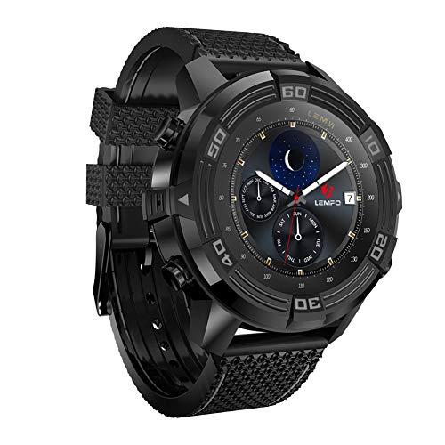 LEM6 Android 5,1 Smart Watch 1GB + 16GB IP67 Professionale Impermeabile Frequenza Cardiaca Monitor Pedometro WiFi GPS Bluetooth...