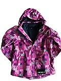 Icepeak Jacke Doppeljacke 2in1 Jacke mit Fleecejacke Rosa/Pink Gr.152 Mädchen