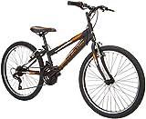 New Star Bulnes Bicicleta BTT 24', Niños, Negro, m
