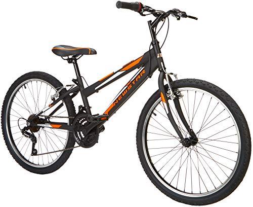 "New Star Bulnes Bicicleta BTT 24"", Niños, Negro, m"