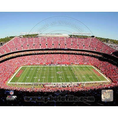 Arrowhead Stadium 2011 Glossy Photograph by Photo File