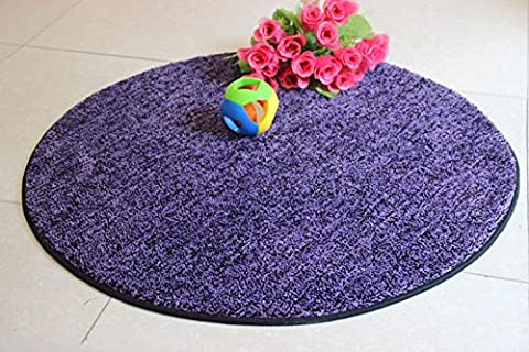 New day®-Round Carpet Computer Chair Mats Living