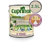 Cuprinol Garden Shades 2,5 L - Pinturas de pared para interior (Pintura, Preparado, Construcción, En vallas y cercados, Muebles, Shed, Mate, 2,5 L, Na