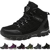 BOLOG Zapatos de Senderismo para Hombre Zapatos de High Cut Trekking Ocio al Aire Libre y Deportes Zapatillas de Running Trekking de Escalada Zapatos de Montaña Mujer