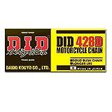 DID Kette 428 D, 102 Glieder (Standard), offen mit Clipschloss