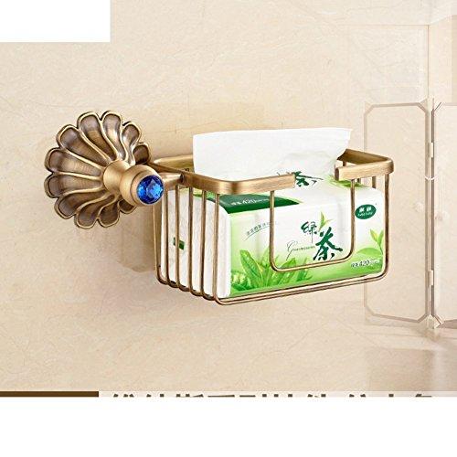 LISABOBO Papier Handtuch Halter mit einem Modele Antik/WC papier Regal/wc Papierhalter/WC-Papierhalter/Test Papier Korb - EIN