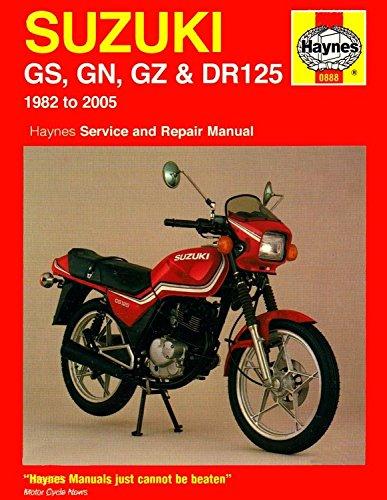 Suzuki Gs, Gn, Gz & Dr125 Singles (82 - 05) Cover Image