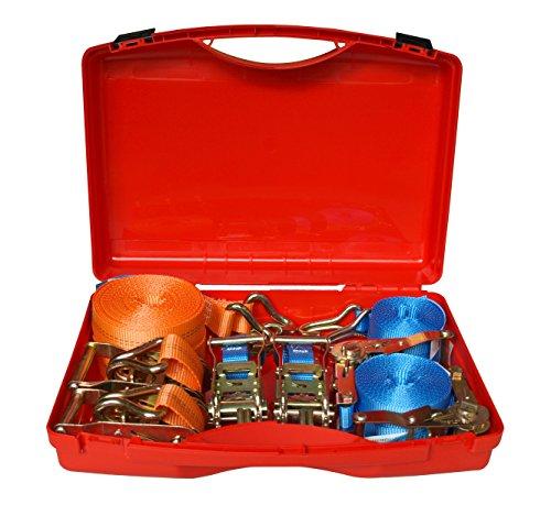 Braun 71607/4X500-2X1000 Koffer-Set Zurrgurt