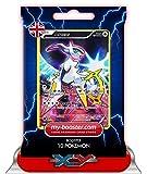 ARCEUS FULL ART XY116 130HP XY11 - Booster mit 10 Englisch Karten Pokemon my-booster