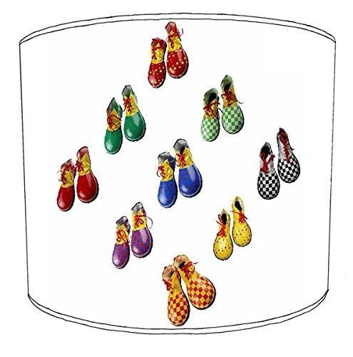Premier Lampshades 30,5cm Tabelle Clown Shoes Print Lampenschirme4 (Clown Tabelle)
