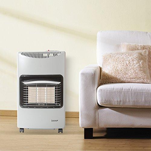 Igenix IG9420 Gas Heater on Wheels 4,200 W - Silver