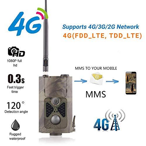 G Trail Wildlife Kamera HD Infrarot-Nachtsicht Wasserdichte Tarnung 24 IR-LEDs 2,0 '' LCD-Anzeige für Outdoor- und Home Security-Überwachung ()