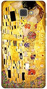 The Racoon Grip The Kiss - Klimt hard plastic printed back case / cover for Samsung Galaxy A9(2016)