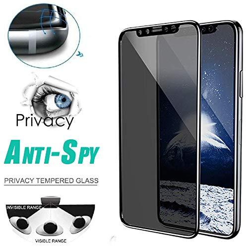Costume Anti-Spion-Privatleben-ausgeglichenes Glas-Schirm-Schutz für iPhone XS/XS Max/XR, Anti-Kratzen, Anti-Fingerabdruck, dauerhaft (XS Max)