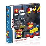 Light Stax S-12011 Set, kompatibel zu Lego, mit 30 LED-Bausteinen in 3 Farben Plus Mobile Power Brick