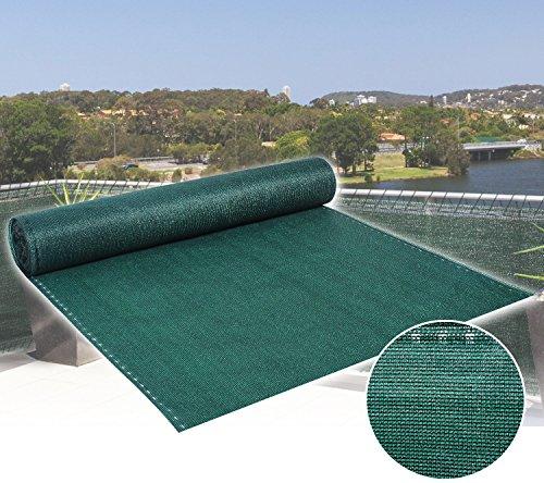woltu 358 1 zaunblende tennisblende schattiernetz sichtschutz windschutz staubschutz. Black Bedroom Furniture Sets. Home Design Ideas