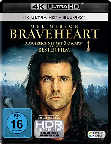 Braveheart (4K Ultra HD) (+ Blu-ray 2D)