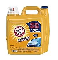 ARM HAMMER Clean Burst Liquid Laundry Detergent 255 fl oz 1