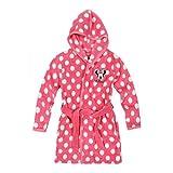 Disney Minnie Accappatoio con cappuccio Coral fleece - rosa fucsia - 128
