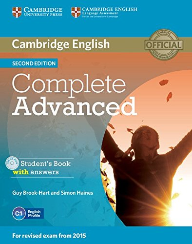 Complete Advanced. Student's Book Pack (Student's book with answers. Con CD-Audio