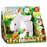 Fifi New for kids the Bunny in White & Grey