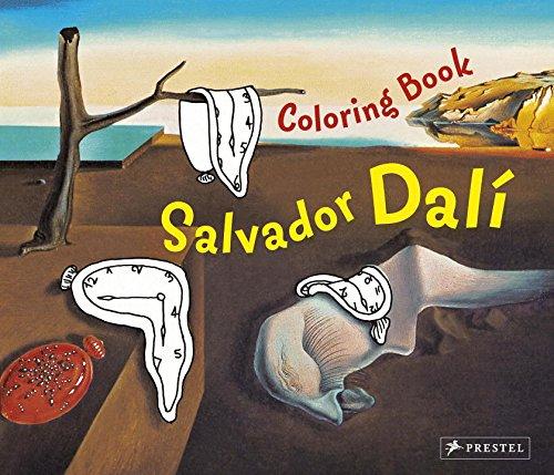 Salvador Dali (Colouring Book) (Prestel Postcard Books)