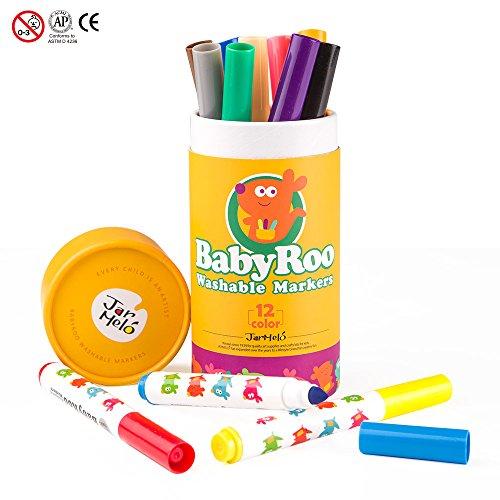 lzstifte Set - 12er Etui; Einfach Auswaschbar; Ungiftig; Sicher Für Babys, Kleinkinder und Kinder (Einfache Thanksgiving-handwerk Für Kleinkinder)