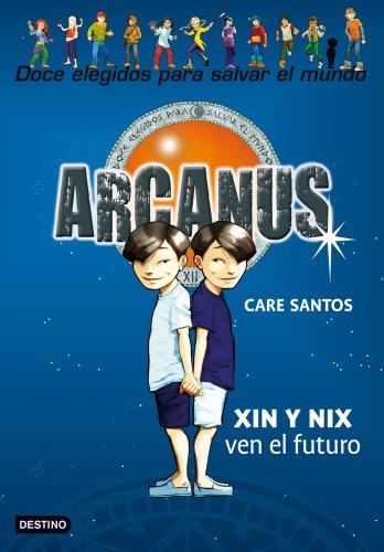 Xin y Nix ven el futuro: Arcanus 12 por Care Santos