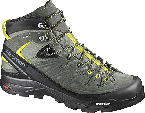 Salomon X Alp Mid LTR GTX Shadow Castor Gray Lime Punch 0 SHADOW/CASTOR GRAY/LIME PUNC