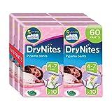 Huggies DryNites Girl hochabsorbierende Pyjamahosen Unterhosen 4-7 Jahre, 2 er Pack (2 x 30 Pants) Vergleich
