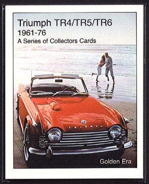 TRIUMPH TR4 TR5 TR6 Sports (1961-76) Collectors Cards