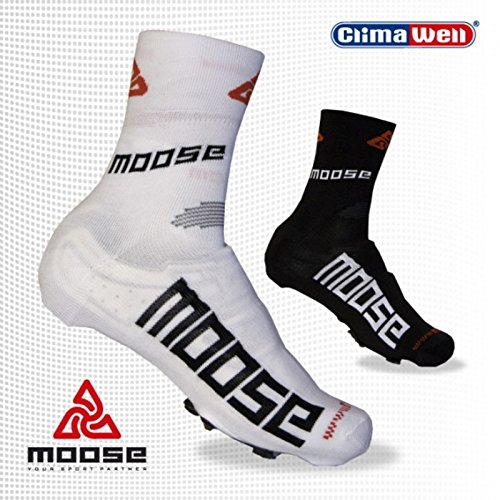 MOOSE SHOECOVER, Fahrradschuh Cover, Überschuh, Überschuhe, Schuhüberzug XL (44-45) Schwarz - 2