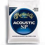 Martin Bluegrass Gitarrensaiten für Akustikgitarren (92/8, Phosphor-Bronze-Umwicklung, Stärke 0.013 - 0.056)