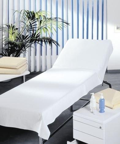 Unbekannt Auflage Massagebank 100x220 Linon weiß