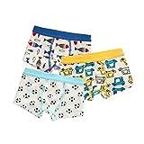 Babyicon Baby Jungen 1-6 Jahre Kinder Unterwäsche Boxershorts 3 Stück Unterhose (90-100cm (12-18 Monate), I)