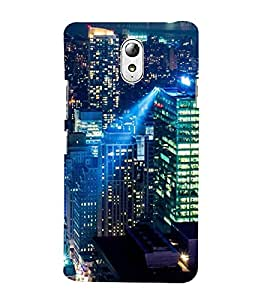 ifasho Designer Back Case Cover for Lenovo Vibe P1M :: Vibe P1m (Cities Bogor Indonesia Bhilwara)