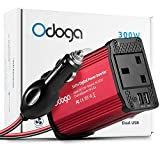Odoga 300W Car Power Inverter DC 12V to 220V AC Converter With Dual