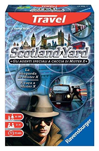Ravensburger - Scotland Yard Travel, Juego de Mesa (234165)