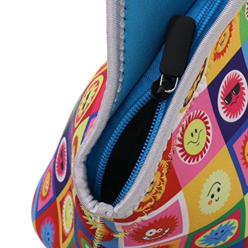 MagiDeal 1200ml Morbido Tote Borsa Porta Alimenti Lunchbox Sacchetto Scatole Bento - #5 #7