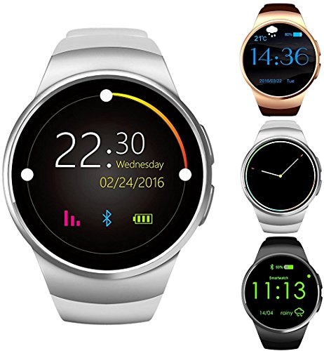 Gpct Bluetooth [Android/iOS] touch screen [impermeabile] workout/Sleep/cardiofrequenzimetro, smart watch per iPhone 7 Plus/7/6s...