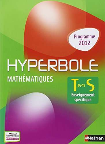 Hyperbole Terminale S spécifique par Bernard Chrétien