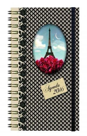 *** 2016 *** EXACOMPTA - Agenda Cakes Eurotime 16W Eiffel. Semainier 16 x 9cm 2016