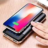 Wireless Charger Power Bank,KUPPET 20000mAh External Battery Charging Pack Portable Charger Battery Pack Portable Charger for iPhone X,iPhone 8,Samsung Galaxy S9/S8/S7 Note 8/9