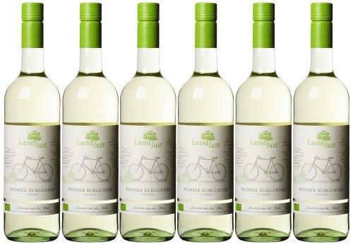 Landlust Weißburgunder Bio Weißwein Trocken