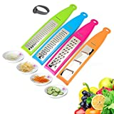Grater Set, 4 Different Blades Hand-held...