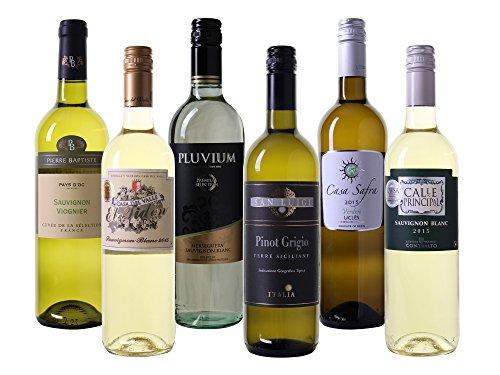 Wein Probierpaket europäische Weißweine trocken (6 x 0.75 l)