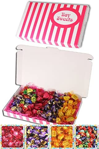 Gift Sweets - 125g Jamesons Chocolate Caramels, 125g Jamesons Raspberry Ruffles, 125g Walkers Assorted Toffees & 125g Cadburys Chocolate