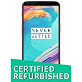 (Certified REFURBISHED) OnePlus 5T (Lava Red, 128GB)