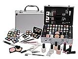 Valigia Make Up 56 Pezzi - Set trucchi cosmetici - Trousse palette pennelli