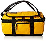 The North Face Base Camp Duffel, Sacs de sport grand format Mixte, Multicolore (Summit Gold/Tnf Black), 132 L, XL